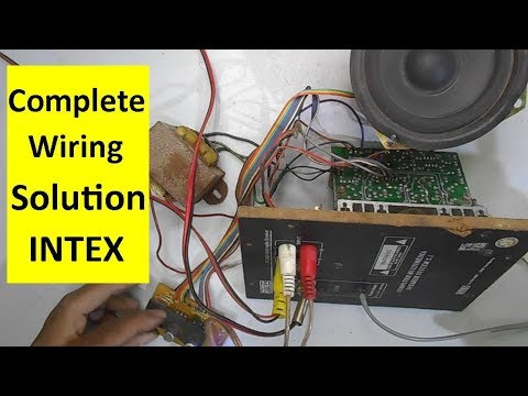 Full Intex Home Theater Wiring Solution And Repairing Guide Model
