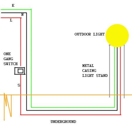 Garden Light Wiring Diagram