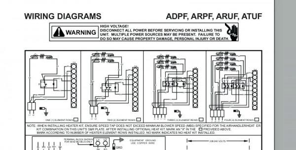Goodman Heat Pump Wiring Schematic Heat Strips Wiring Schematic