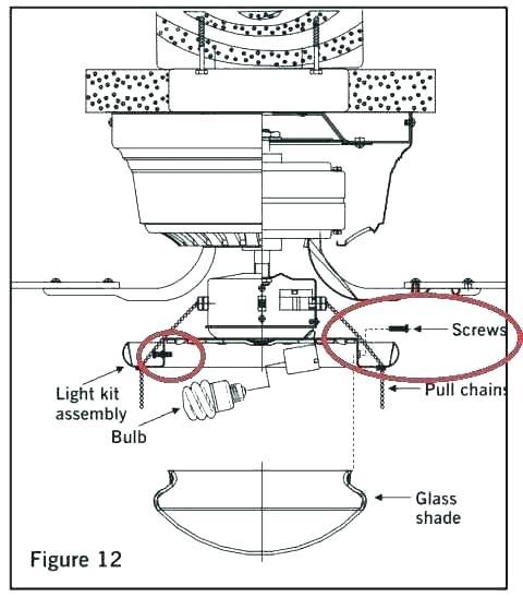 Hampton Bay Fan Motor Replacement Bay Fan Parts Manual Diagram