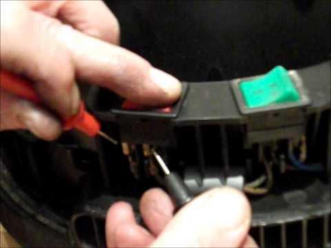 Henry Vac Repair Stripdown