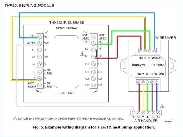 Honeywell Rth221b1000 Wiring Diagram