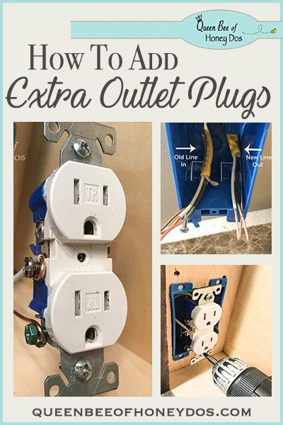 How To Add Additional Outlet Plugs