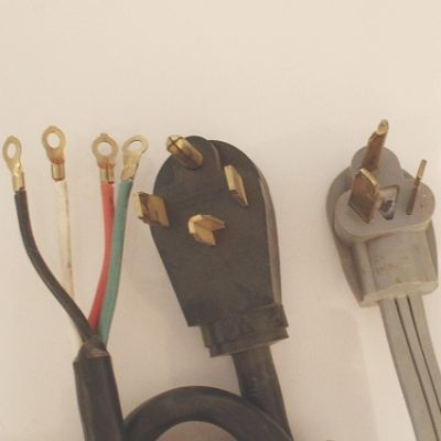How To Change An Electric Dryer Plug From A 3