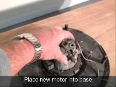 How To Change Replace The Motor On A Numatic (henry) Vacuum