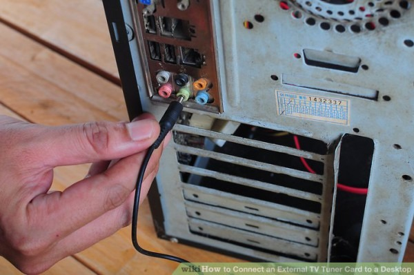 How To Connect An External Tv Tuner Card To A Desktop