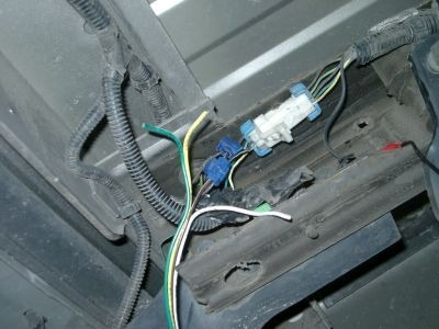 How To Connect Trailer Wiring  2003 Chevy S