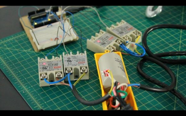How To Hack An Electric Hoist (ac Motor)  3 Steps