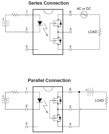 Hsr412 (solid State Relay) Parallel Circuit Connection Not Working