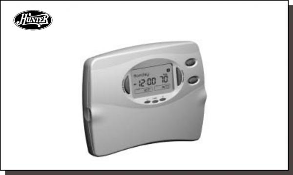 Hunter Fan 44760 Thermostat User Manual
