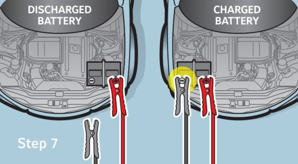 Jumper Cable Diagram