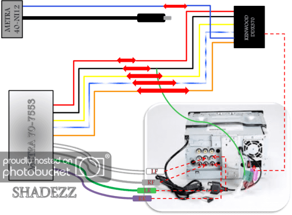 Kenwood Ddx470 Wiring Diagram