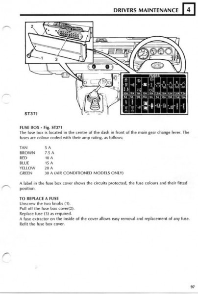 Defender Td5 Wiring Diagram