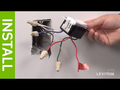Leviton Presents  How To Install A Decora Digital Dse06 Low
