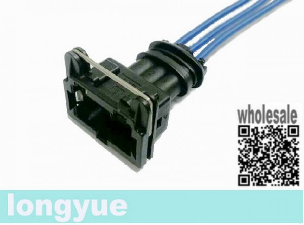 Longyue 10pcs 3 Way Junior Power Connector & Loom Pole Sensor Plug
