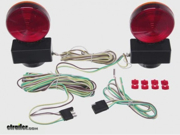 Maxxtow Magnetic Tow Lights Installation Video