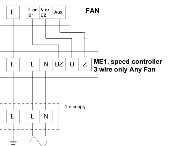 Me1 12 Speed Controller By Flakt Woods   Flakt Woods   Da414855