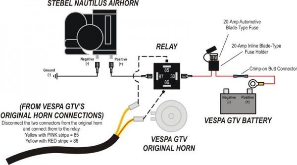 Stebel Air Horn Wiring Diagram