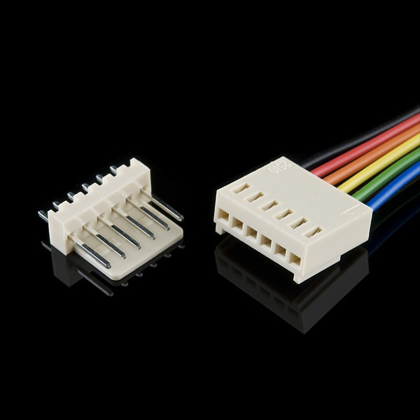 Molex Jumper 6 Wire Assembly