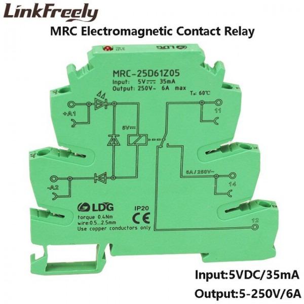 Mrc 25d61z05 6a 5vdc Output Amplifier Plc Interface Module Relay