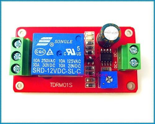 Ne555 Timer Delay Relay Switch Module Dc 12v Volt Ac 220v