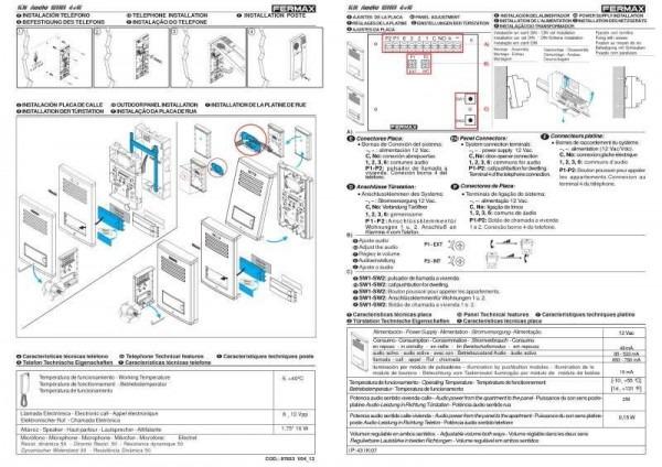 New Fermax Intercom Wiring Diagram – Youtuu Info