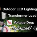 Landscape Lighting Voltage Drop Calculator