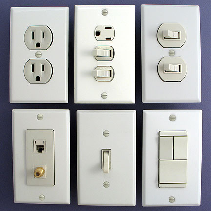 wall outlet switch