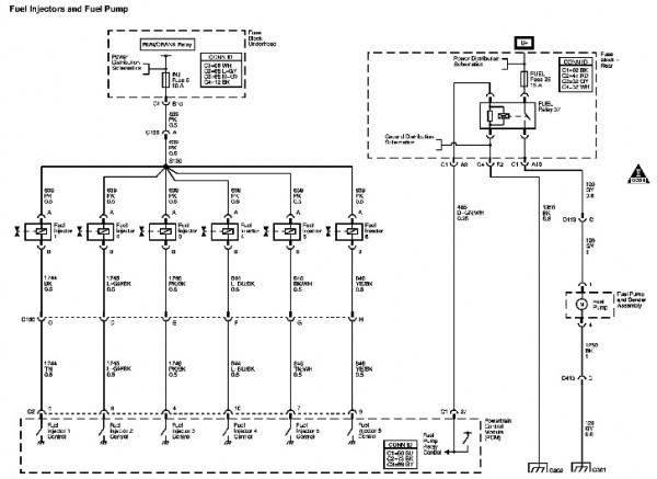 Pontiac Fuel Pump Diagram