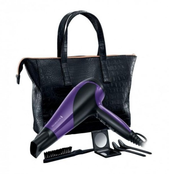 Remington D3192gp Glamourous Of All Hair Dryer Gift Pack 220 Volt