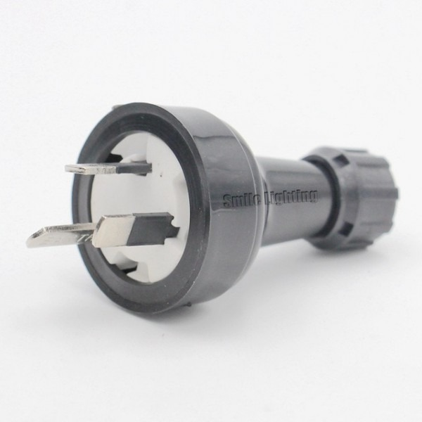 Rewirable Australian 3 Prong Plug Screw Connection Plug Industrial
