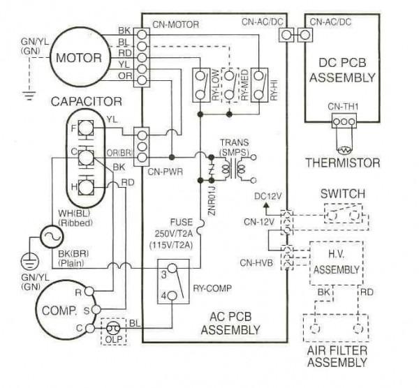Rheem Air Conditioner Wiring Diagram