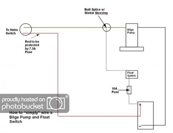 Rigging An Auto Bilge Pump (rule 500 Gph)