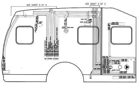 Roadtrek 200 Electrical Schematics & Diagrams
