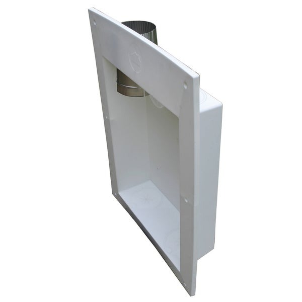 Shop Builders Best 011563 Dryer Outlet Box With Adapter