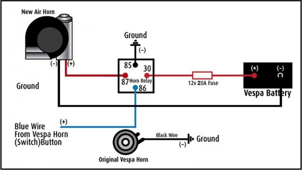 Stebel Horn Wiring Diagram