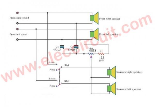 Surround Sound Systems Wiring Diagram