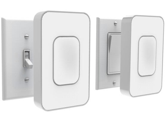 Switchmate Smart Light Switch Controls Lights Wirelessly With No