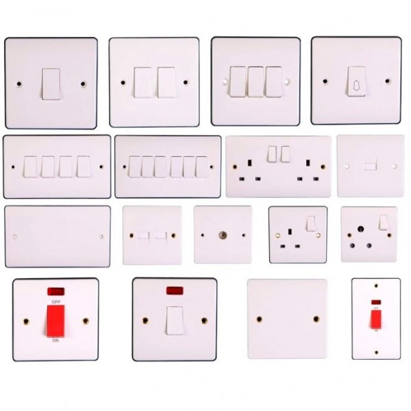 Symbols Captivating Types Electrical Switches Different Light