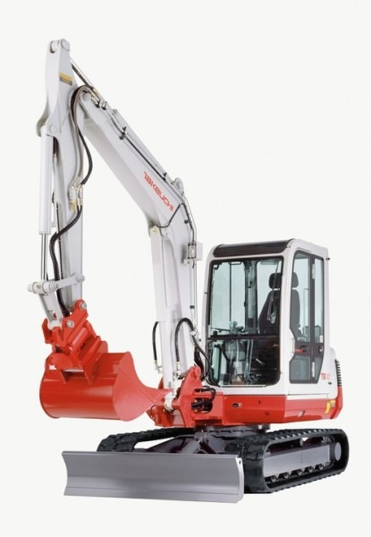 Takeuchi Tb125 Tb135 Tb145 Compact Excavator Operation Maintenance