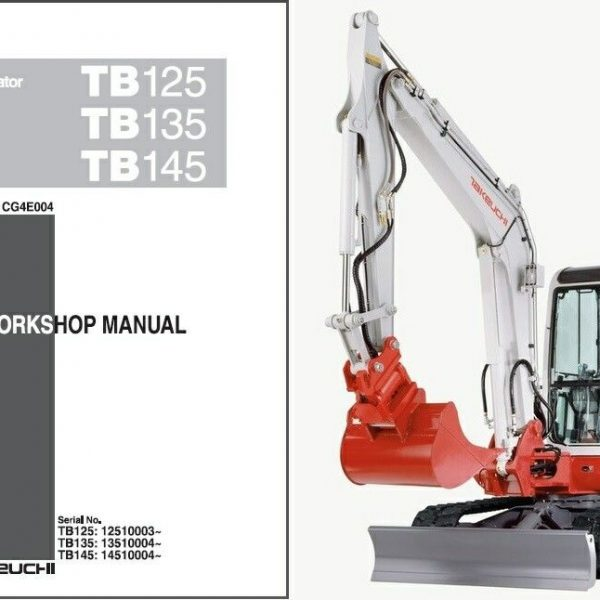 Takeuchi Tb135 Wiring Diagram
