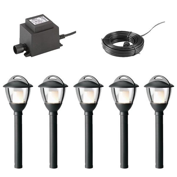 Techmar Post Light Garden Lighting Package