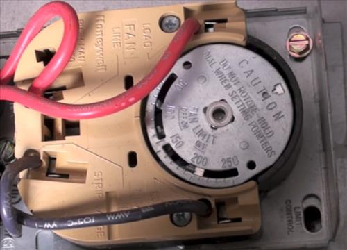 Test And Replace The Fan Limit Switch On A Furnace – Hvac How To