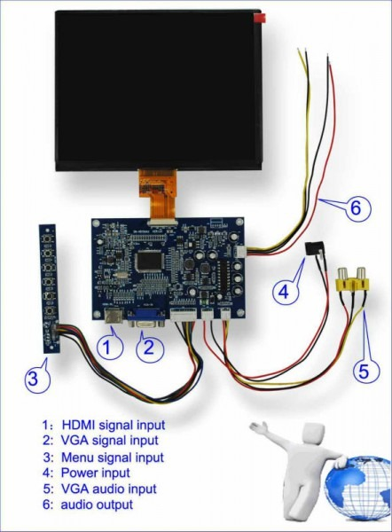 Tft Lcd Wiring Diagram