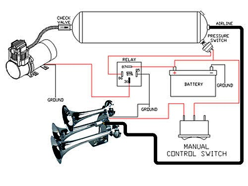 Omega Train Horn Wiring Diagram