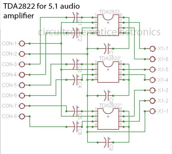 Ts Big Idea  5 1 Surround Board Circuit
