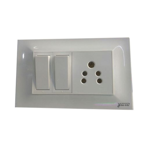 Two Switch One Board, Ip Rating  Ip65, Rs 70  Piece, Shree