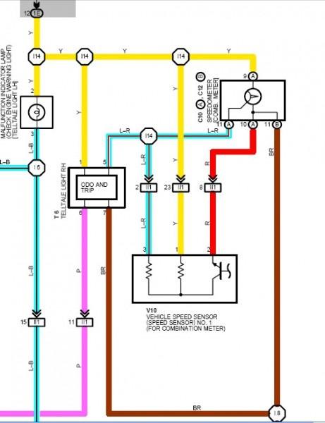 V160 Speed Sensor Wiring