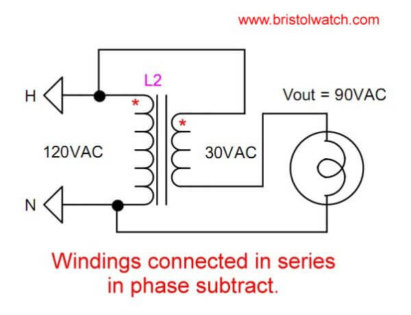 Buck Transformer Wiring Diagram