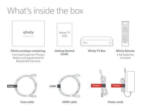 Xfinity X1 Wiring Diagram